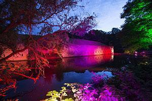 Herbstlichter Brückenkopfpark
