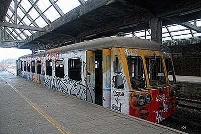 Montzen Gare urbex