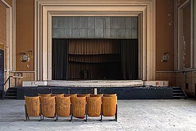 urbex foto theater Jeusette