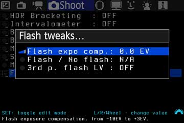 Flash Tweaks